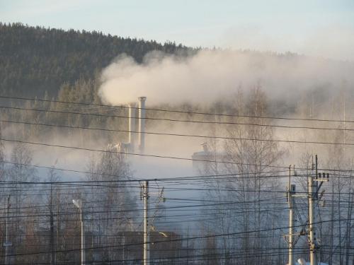 Завод пылит народ шумит